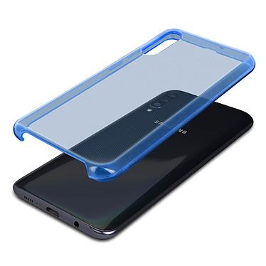 Avizar Coque Bleu Semi-Rigide pour Samsung Galaxy A50 pas cher