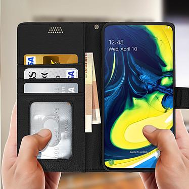 Acheter Avizar Etui folio Noir pour Samsung Galaxy A80