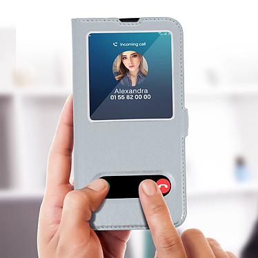 Acheter Avizar Etui folio Argent pour Samsung Galaxy M20