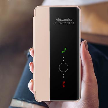 Acheter Avizar Etui folio Rose Champagne pour Huawei P40 Pro