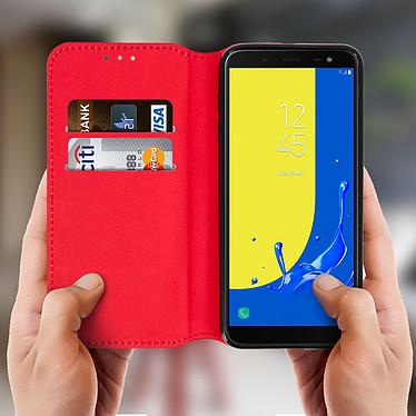 Acheter Avizar Etui folio Rouge pour Samsung Galaxy J6