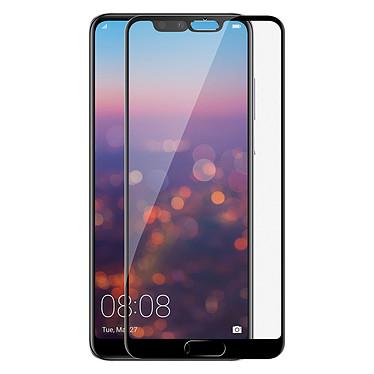 Avizar Film verre trempé Noir pour Huawei P20 Pro pas cher