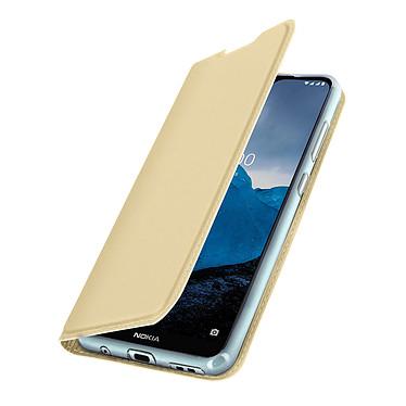 Avizar Etui folio Dorée pour Nokia 7.2 , Nokia 6.2 pas cher