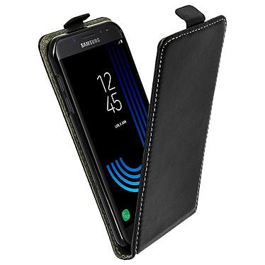 Avizar Etui à clapet Noir pour Samsung Galaxy J5 2017 Etui à clapet Noir Samsung Galaxy J5 2017