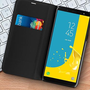 Acheter Avizar Etui folio Noir pour Samsung Galaxy J6