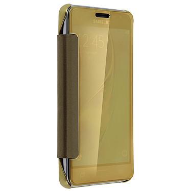 Avis Avizar Etui folio Dorée pour Samsung Galaxy J3