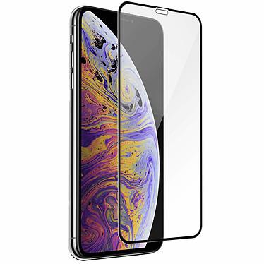 Avizar Film verre trempé Noir pour Apple iPhone XS Max, Apple iPhone 11 Pro Max pas cher