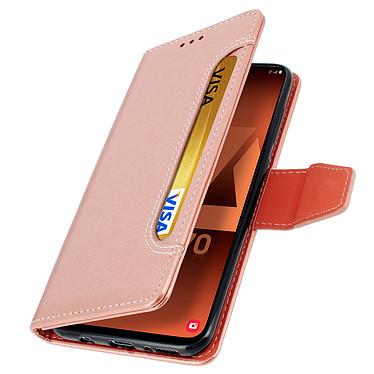 Avizar Etui folio Rose pour Samsung Galaxy A70 pas cher