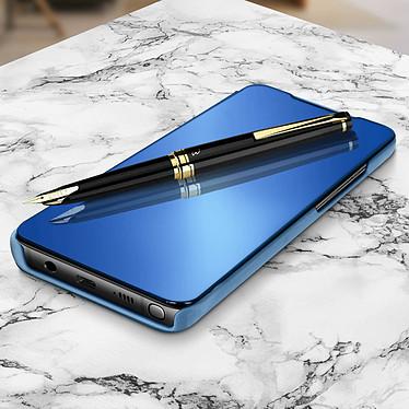 Avizar Etui folio Bleu pour Samsung Galaxy Note 10 Lite pas cher