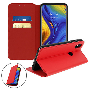 Avizar Etui folio Rouge pour Xiaomi Mi Mix 3 pas cher