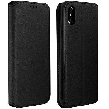 Avizar Etui folio Noir pour Apple iPhone X , Apple iPhone XS pas cher