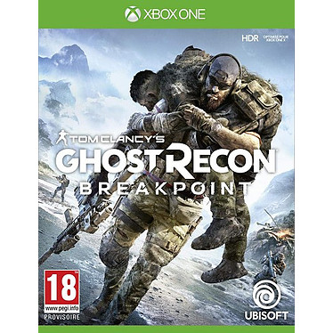 Ghost Recon Breakpoint (XBOX ONE) Jeu XBOX ONE FPS 18 ans et plus