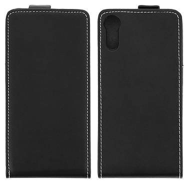 Avizar Etui à clapet Noir pour Sony Xperia XZ Etui à clapet Noir Sony Xperia XZ