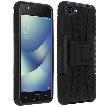 Avizar Coque Noir pour Asus Zenfone 4 Max ZC520KL Coque Noir Asus Zenfone 4 Max ZC520KL