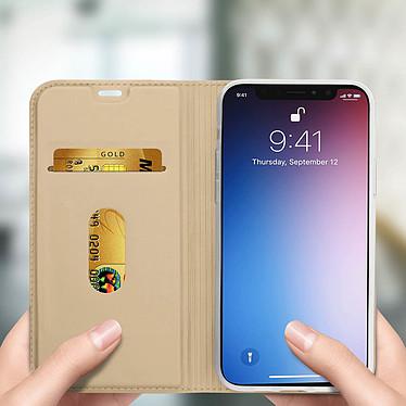 Avis Avizar Etui folio Dorée Éco-cuir pour Apple iPhone 11 Pro Max