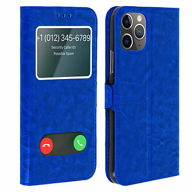 Avizar Etui folio Bleu pour Apple iPhone 11 Pro Etui folio Bleu Apple iPhone 11 Pro