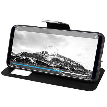 Avis Avizar Etui folio Noir pour Samsung Galaxy S8 Plus