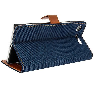 Avizar Etui folio Bleu pour Sony Xperia XZ1 Etui folio Bleu Sony Xperia XZ1