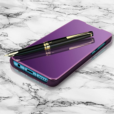 Avizar Etui folio Violet pour Huawei P30 Lite , Honor 20S , Huawei P30 Lite XL pas cher