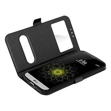 Avizar Etui folio Noir pour LG G5 Etui folio Noir LG G5