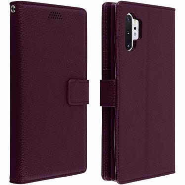 Avizar Etui folio Violet pour Samsung Galaxy Note 10 Plus Etui folio Violet Samsung Galaxy Note 10 Plus