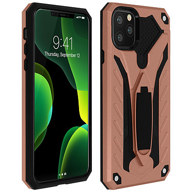 Avizar Coque Rose Champagne Hybride pour Apple iPhone 11 Pro Max Coque Rose Champagne hybride Apple iPhone 11 Pro Max