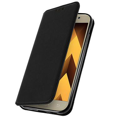 Avizar Etui folio Noir pour Samsung Galaxy A3 2017 Etui folio Noir Samsung Galaxy A3 2017