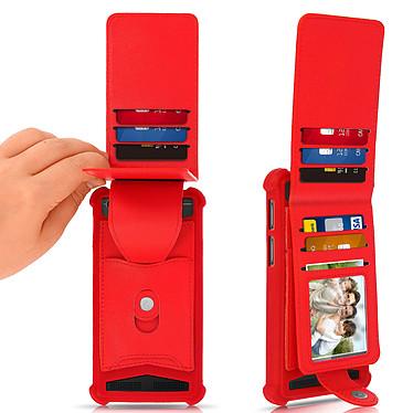 Acheter Avizar Coque Rouge pour Compatibles avec Smartphones de 4,7 à 5,0 pouces