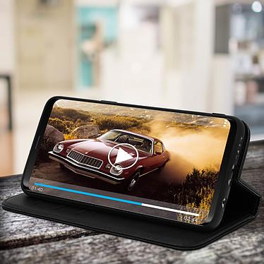 Avis Avizar Etui folio Noir pour Samsung Galaxy S9
