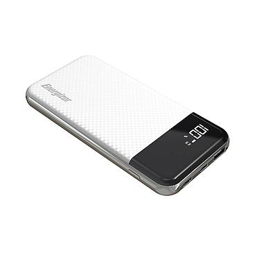 Energizer 732730 Batterie de secours 10000 mAh 2 USB-A/USB-C PD 3.0 18 W + LCD  - blanche