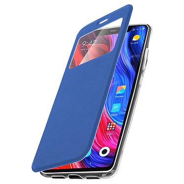Avizar Etui folio Bleu pour Xiaomi Mi 8 , Xiaomi Mi 8 Pro pas cher