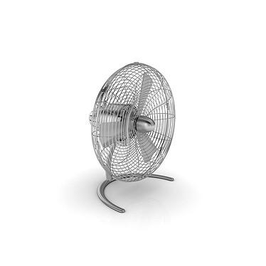 StadlerForm - Ventilateur CHARLY Little - Acier inox Petit mais puissant