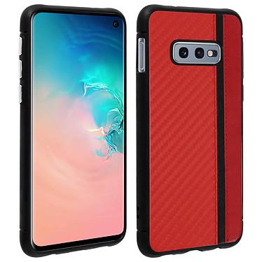 Avizar Coque Rouge Bi-matièrespour Samsung Galaxy S10e Coque Rouge bi-matières Samsung Galaxy S10e