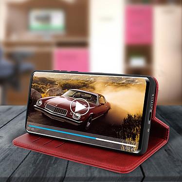 Avis Avizar Etui folio Rouge Portefeuille pour Huawei P30 Pro