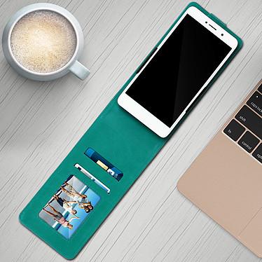 Avis Avizar Etui à clapet Vert pour Compatibles avec Smartphones de 5,5 à 6,0 pouces