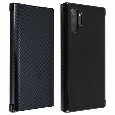 Avizar Etui folio Noir Translucide pour Samsung Galaxy Note 10 Plus Etui folio Noir translucide Samsung Galaxy Note 10 Plus