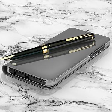 Avizar Etui folio Argent pour Huawei Mate 10 Lite pas cher
