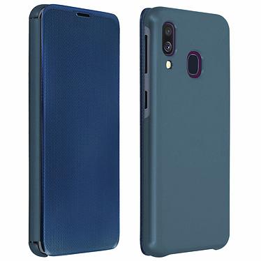 Avizar Etui folio Bleu pour Samsung Galaxy A40 Etui folio Bleu Samsung Galaxy A40