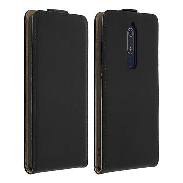 Avizar Etui à clapet Noir pour Nokia 5.1 Etui à clapet Noir Nokia 5.1