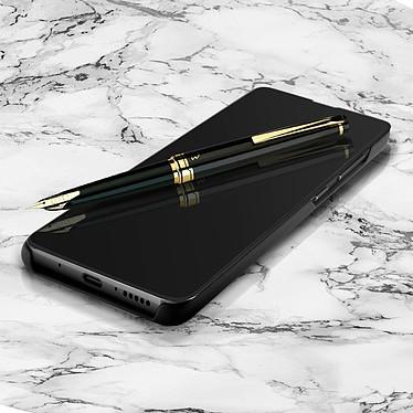 Avizar Etui folio Noir Design Miroir pour Huawei Mate 20 pas cher