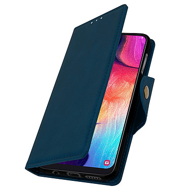 Avizar Etui folio Bleu Nuit pour Samsung Galaxy A50 , Samsung Galaxy A30s pas cher