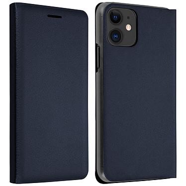Avizar Etui folio Bleu Nuit pour Apple iPhone 11 Etui folio Bleu Nuit Apple iPhone 11