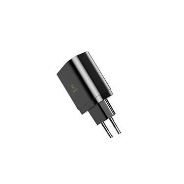 BASEUS Chargeur 3 USB avec Affichage Charge rapide 3.4A Max couleur noir Chargeur 3 USB avec Affichage Charge rapide 3.4A Max
