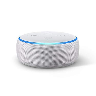 Amazon Echo Dot 3ème Génération Blanc Enceinte connectée avec Amazon Alexa - Wi-Fi/Bluetooth