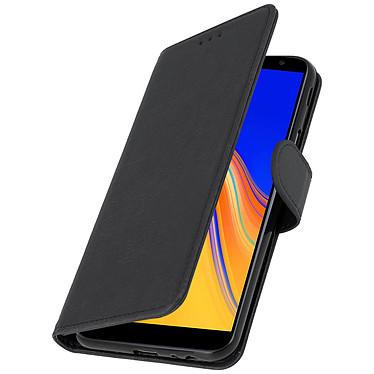 Avizar Etui folio Noir pour Samsung Galaxy J4 Plus pas cher