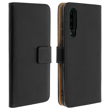 Avizar Etui folio Noir pour Huawei P30 Etui folio Noir Huawei P30