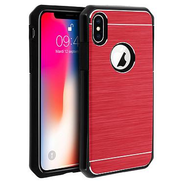 Avizar Coque Rouge Rigide pour Apple iPhone X , Apple iPhone XS pas cher