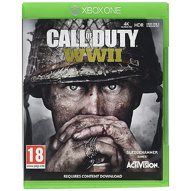 Call of Duty World War II (XBOX ONE) Jeu XBOX ONE FPS 18 ans et plus