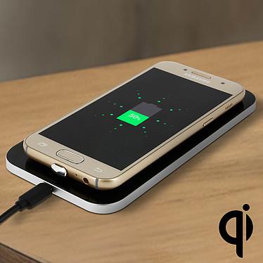 Avizar Kit de transformation QI Noir pour Smartphones à connecteurs USB type C pas cher