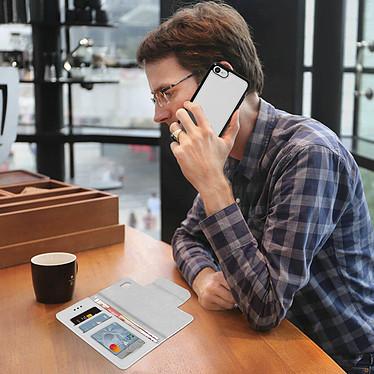 Avis Avizar Etui folio Argent pour Apple iPhone 7 , Apple iPhone 8 , Apple iPhone SE 2020
